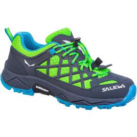 SALEWA Wildfire Sko Børn, blå/grøn
